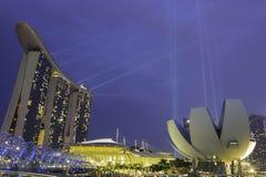 Marina bay hotel Stock Image