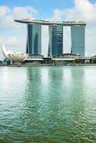 Marina Bay hotel, Singapore Stock Images
