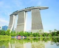 Marina Bay Hotel Royalty Free Stock Image