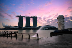 Marina bay Stock Photo