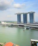 Marina Bay overlooking, Singapore Royalty Free Stock Photography