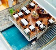 Marina Bay Restaurant Stock Image