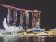 Marina Bay royalty free stock images