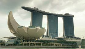 Marina Bay Sand Foto de Stock Royalty Free