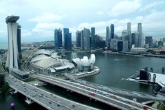 Marina bay sand Royalty Free Stock Images