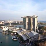 Marina Bay Sand Singapore Photo stock