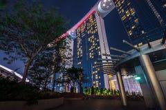 Marina Bay Sand Singapore Fotografie Stock Libere da Diritti