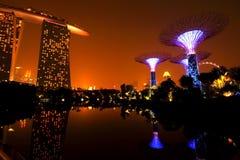 Marina Bay Sand, singapore Stock Photos