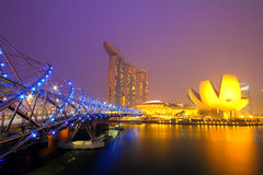 Marina Bay Sand, singapore Stock Photography
