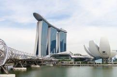 Marina Bay Sand in Singapore Stock Photo