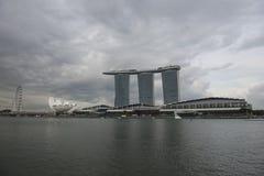 Marina Bay Sand skyscraper. Singapore Royalty Free Stock Photos