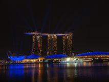 Marina Bay Sand - Wonder Full Royalty Free Stock Image
