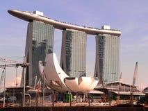Marina Bay Sands. In Singapore Stock Image
