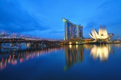 Marina Bay Sands Royalty Free Stock Image