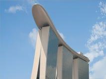 Marina Bay Sands. Main tower and sky park of Marina Bay Sands Singapore Royalty Free Stock Images