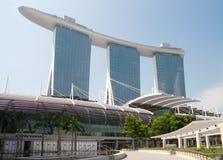 Marina Bay Sands. Integrated Resort Singapore Stock Photo