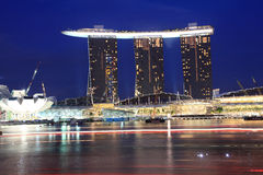 Marina Bay Sands Royalty Free Stock Photos