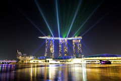 Marina Bay Sands Stock Images