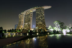Marina Bay Sands Stock Photo