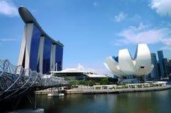 Marina Bay Sands Immagine Stock Libera da Diritti