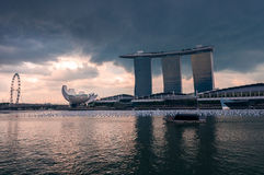 Marina Bay Sands Photo libre de droits