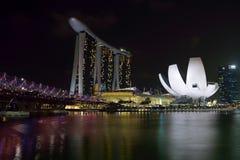 Marina Bay Sands Fotografía de archivo libre de regalías