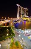 Marina Bay Sands Royalty-vrije Stock Afbeeldingen