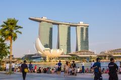 Marina Bay Sands Royalty-vrije Stock Foto