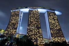 Marina Bay Sands Immagini Stock Libere da Diritti