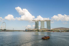Marina Bay Sands Royalty Free Stock Images
