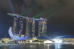 Marina Bay Sands and ArtScience Museum Stock Image