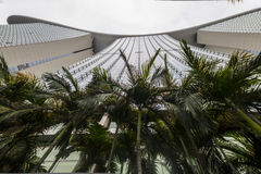Marina Bay Sands from below, Singapore Stock Photography