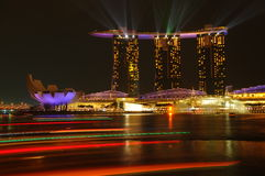 Marina Bay Sands Building Royalty Free Stock Image