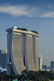Marina Bay Sands building Royalty Free Stock Photo