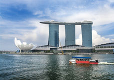 Marina Bay Sands complex Stock Image