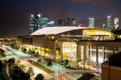 Marina Bay Sands Expo Convention Centre Royalty Free Stock Photography