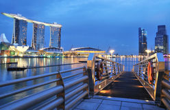 Marina Bay Sands Hotel Royalty Free Stock Photo