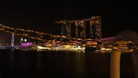 Marina Bay Sands Hotel 01 Royaltyfri Bild