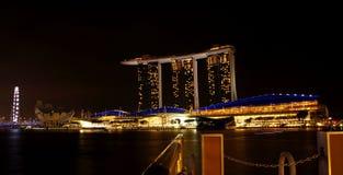 Marina Bay Sands Hotel 03 Royaltyfria Bilder