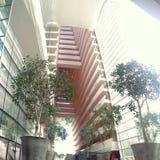 Marina Bay Sands Hotel atrium Stock Photography