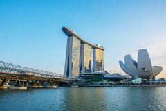 Marina Bay Sands Hotel Stock Image