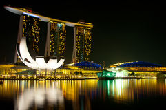 Marina Bay Sands Hotel and Casino Stock Photos