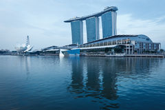 Marina Bay Sands hotel and casino, Singapore Stock Image