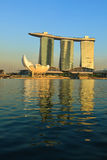 Marina Bay Sands hotel and casino, Singapore Stock Photography