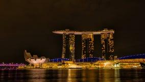 Marina Bay Sands hotel Royalty Free Stock Images