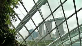 Marina Bay Sands hotel  Stock Photos