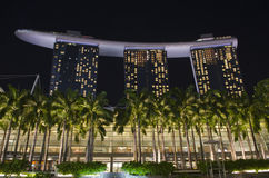 Marina Bay Sands Hotel and resort Royalty Free Stock Image