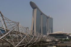Marina Bay Sands Hotel Stock Photo