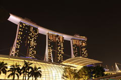 Marina Bay Sands Hotel, Singapore Royalty Free Stock Photography