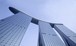 Marina Bay Sands Hotel in Singapore Royalty Free Stock Images